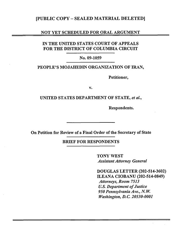 Gjykata Amerikane e Apelit mohon kërkesën e MKO
