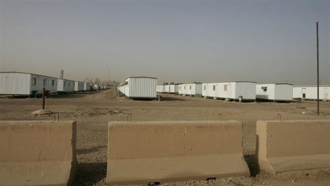 A file photo of Camp Liberty's premises near Baghdad International Airport